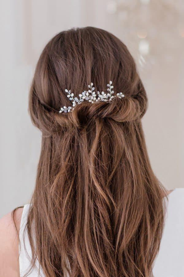 accesorii păr mireasă, accesorii par coc, ace par mireasa, ace par perle, accesorii par nunta