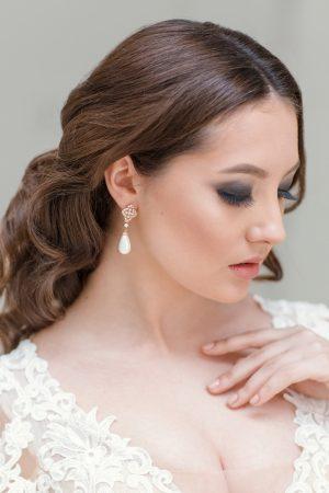 silver filigree earrings, Art Deco filigree earrings,pearl bridal earrings,pearl drop wedding earrings, bridal jewelry