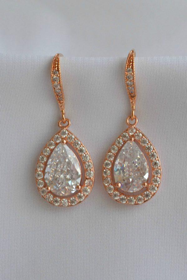 cercei zirconiu mireasa cercei cristale, cercei mireasa, bijuterii mirese, bijuterii cu cristale pentru nunta
