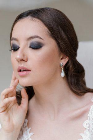 pearl bridal jewelry, sterling silver pearl drop earrings, vintage filigree bridal earrings, pearl bridal earrings, vintage wedding earrings