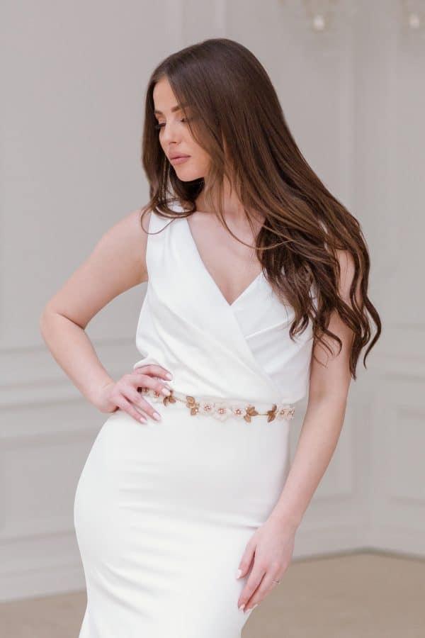 bridal dress belt, floral bridal sash, wedding dress sash, bridal belts and sashes, bridesmaid belt