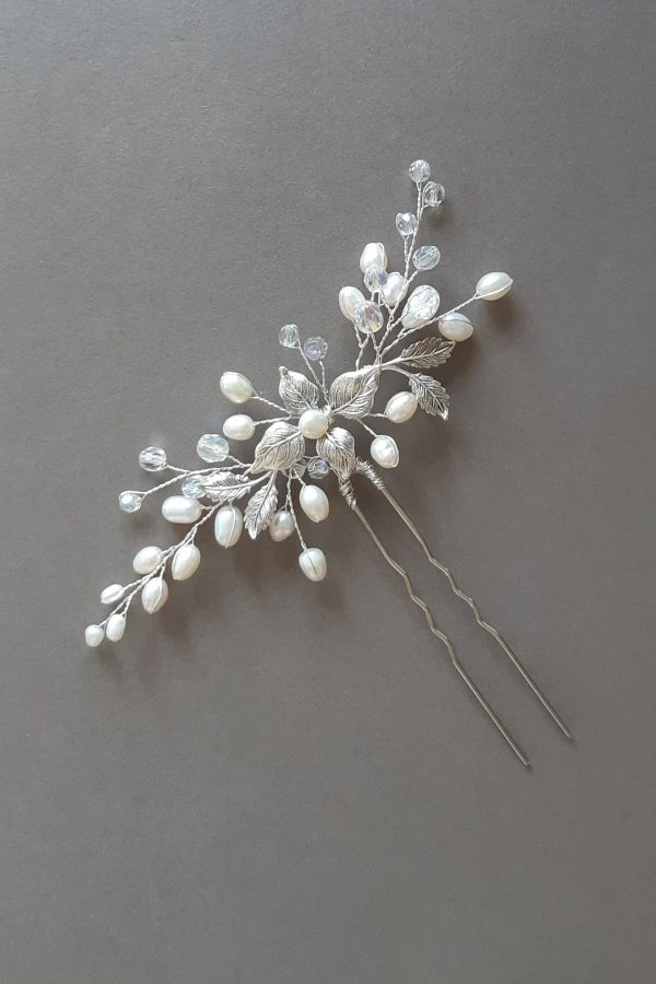 accesoriu păr mireasă, ac par perle, ac par, accesoriu par, mirese